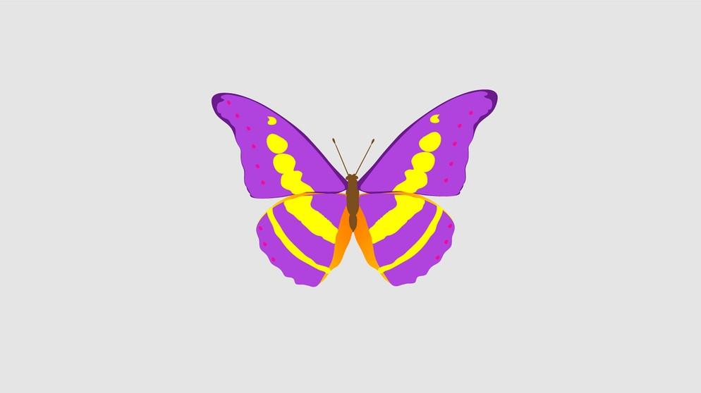 Schmetterling Emoticon