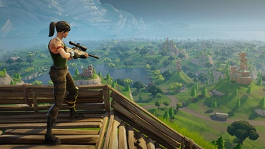 "Screenshot aus dem Game ""Fortnite"" 