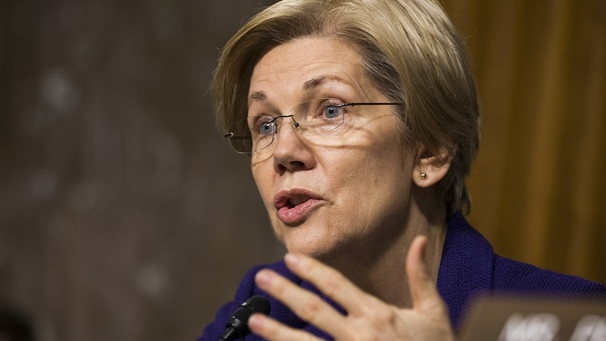 US-Senatorin Elizabeth Warren | Bild: picture-alliance/dpa