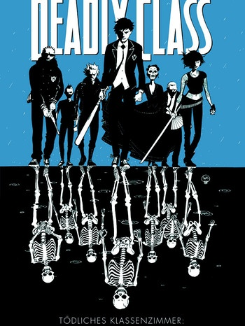 "Cover Comic ""Deadly Class"" - Rick Remender - Jugendliche in Gruppe 