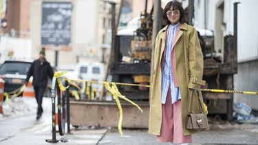Streetstyle bei der New York Fashion Week | Bild: picture-alliance/dpa