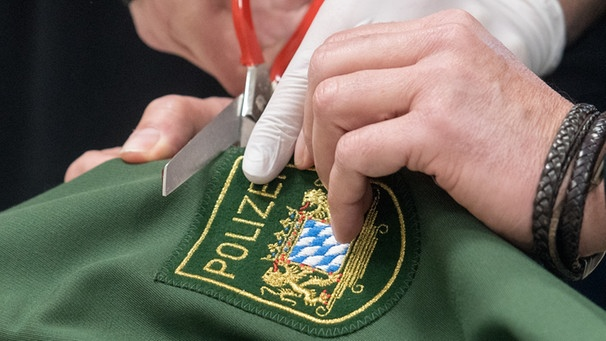 Polizei Uniform | Bild: picture-alliance/dpa