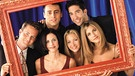 "Chandler, Monica, Joey, Phoebe, Ross und Rachel aus der Kultserie ""Friends"". 