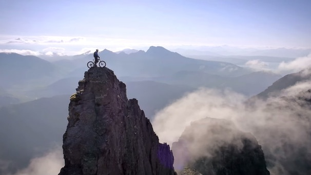 "Filmausschnitt von ""The Ridge"" von Danny MacAskill 