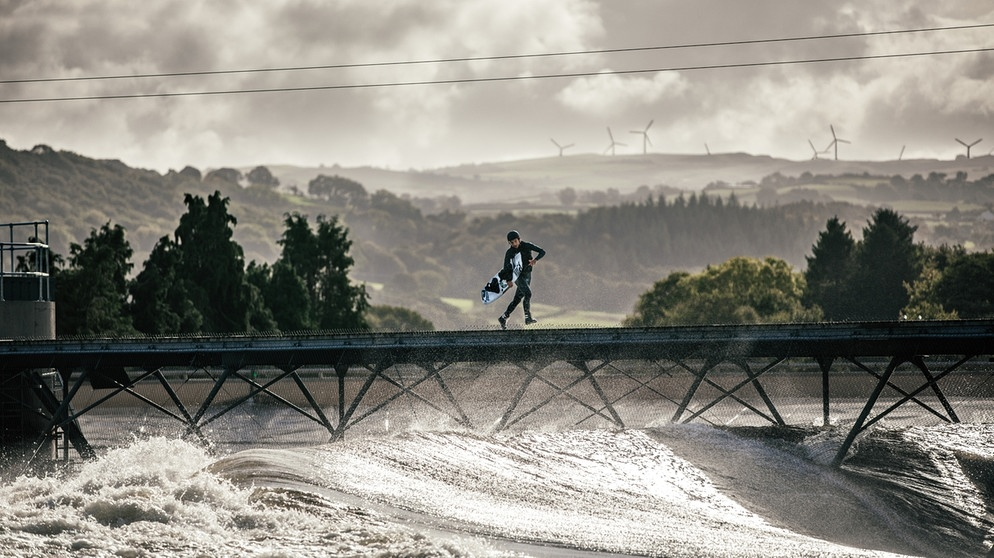 Wakeboard a Wave Pool | Bild: BR
