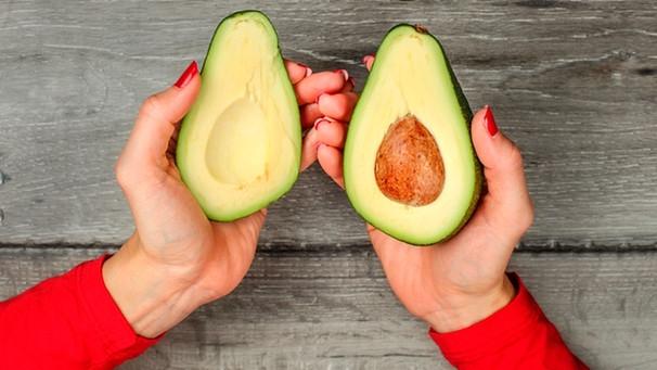 Hat punkte avocado braune Braune Punkte