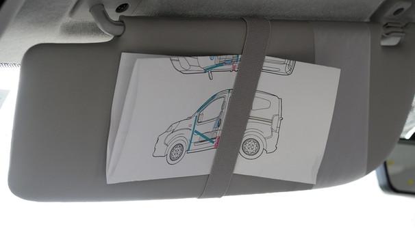 Rettungskarte Fürs Auto Ein Stück Papier Das Leben Retten