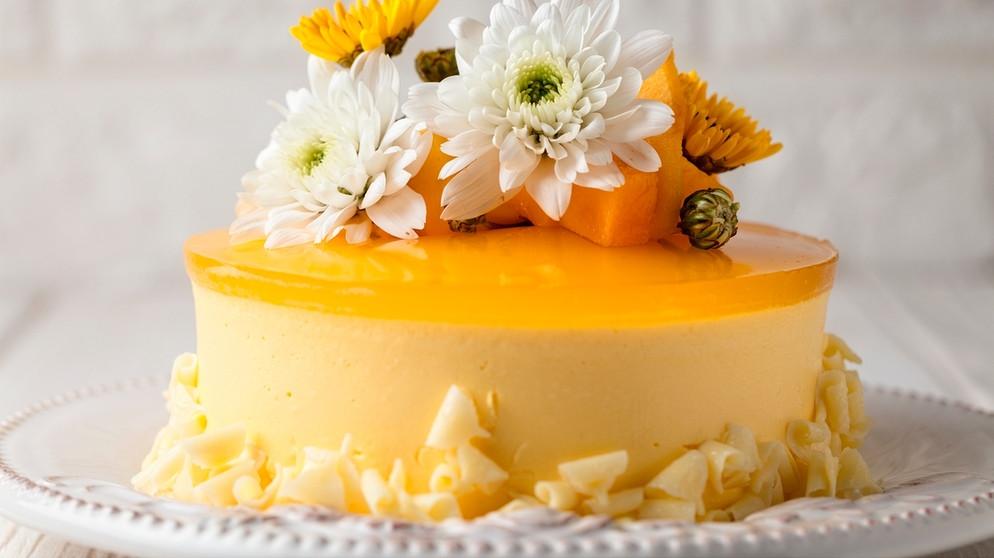 kuchen ohne backen mango cheesecake aus dem k hlschrank bayern 1 radio. Black Bedroom Furniture Sets. Home Design Ideas