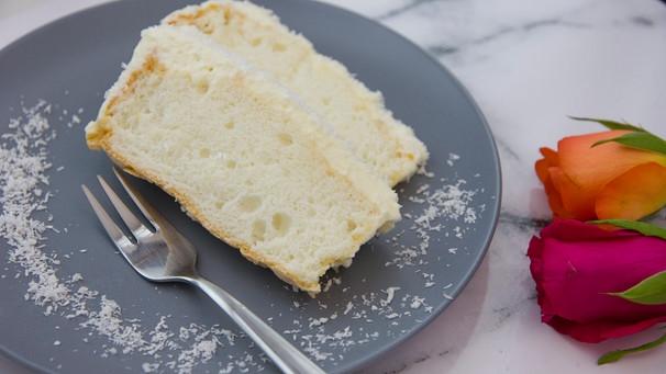 Kuchen ohne Butter: Rezept für Angel Food Cake | Bayern 1 | Radio ...