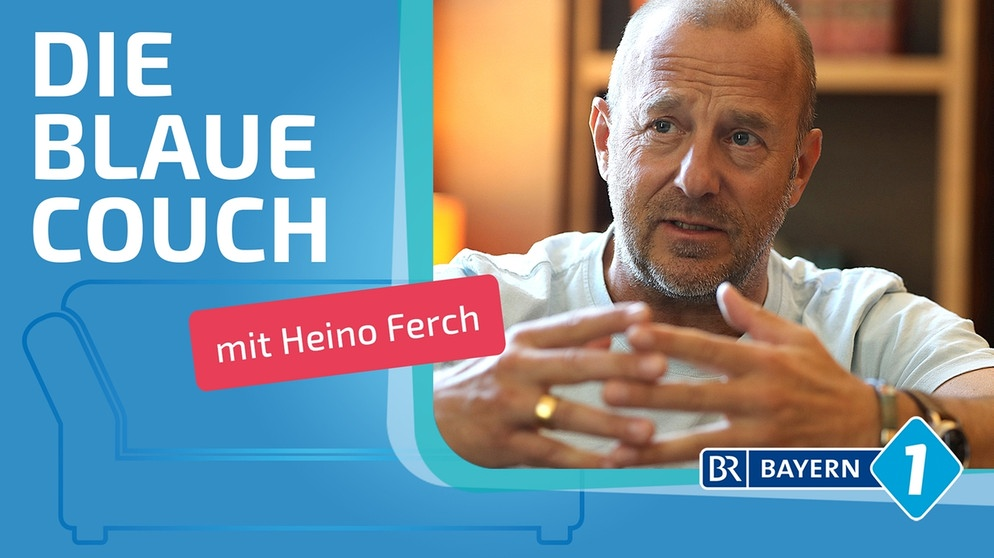 Heino Ferch Interview Schauspieler Heino Ferch Auf Der Blauen Couch