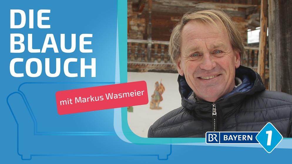 Markus Wasmeier Ich Habe Einfach Lebensfreude Blaue Couch