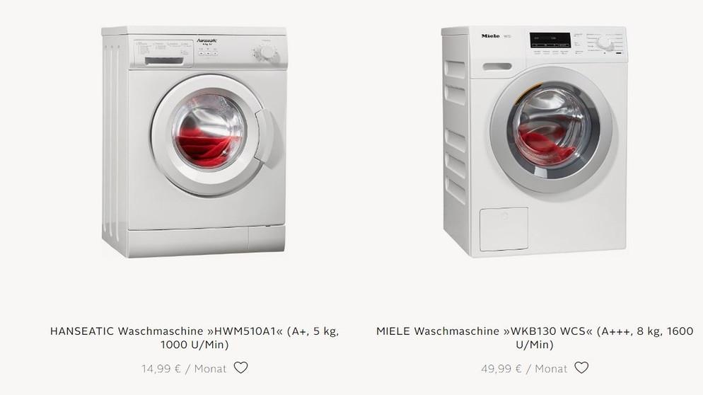 Mieten statt kaufen wie günstig ist es wirklich elektrogeräte zu