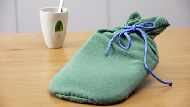 Alte Kleidung Weiterverwenden Wärmflaschen Bezug Aus Altem Pullover