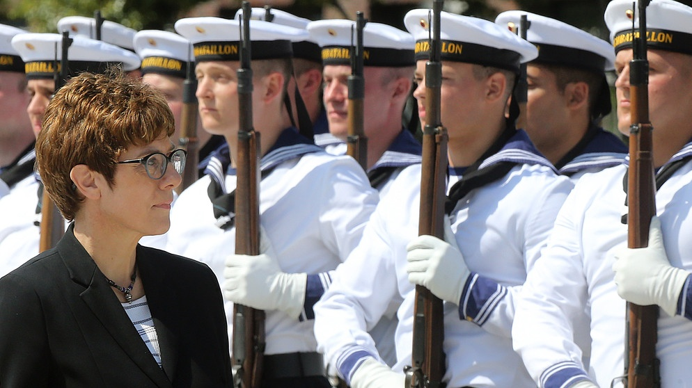 Annegret Kramp-Karrenbauer | Bild: picture-alliance/dpa