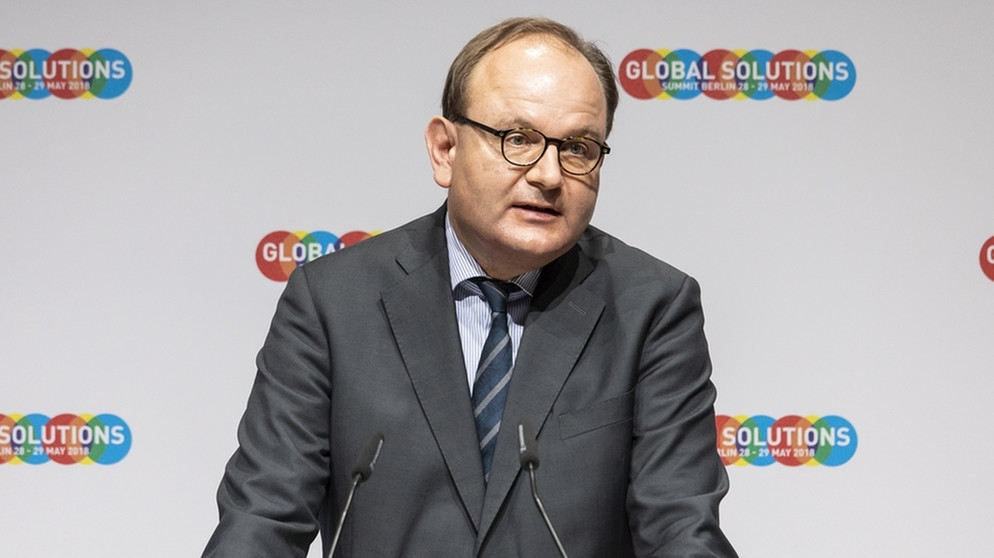 Ottmar Edenhofer auf dem Global Solutions Summit 2018 | Bild: picture-alliance/dpa