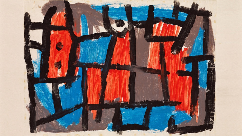 "Paul Klee, ""The Hour Before One Night"", 1940 