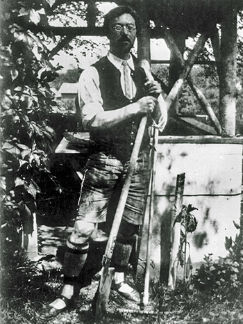 Wassily Kandinsky in Murnau (1910) | Bild: picture-alliance/akg-images