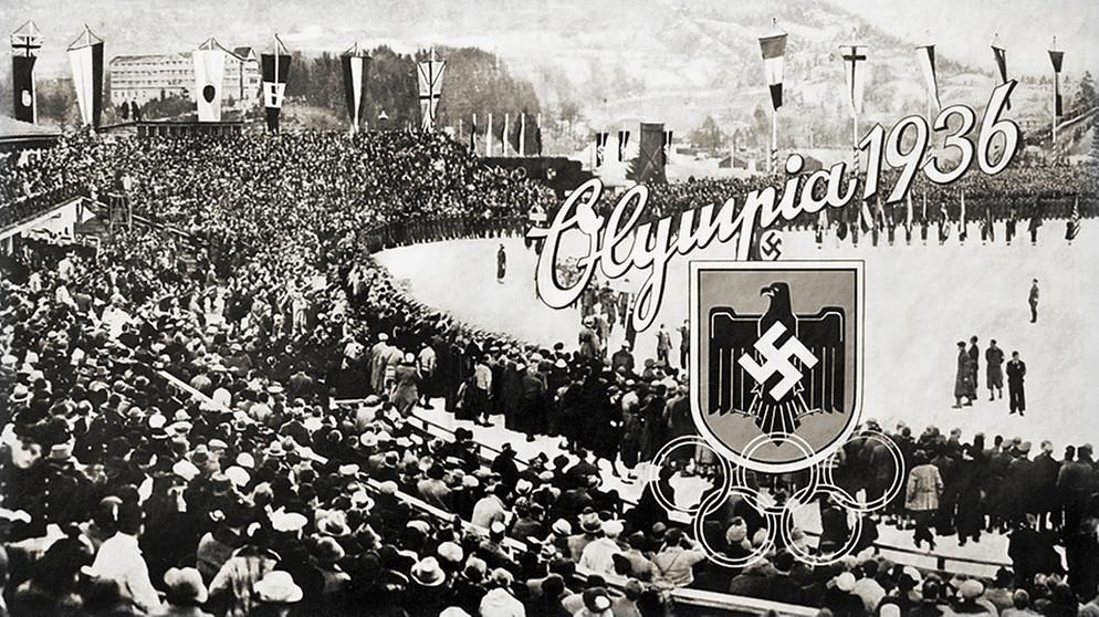 Olympia 1936 Die Winterspiele Von Garmisch Partenkirchen Bayerisches Feuilleton Bayern 2 Radio Br De