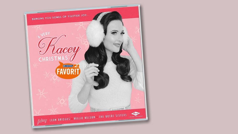 "CD-Cover ""A Very Kacey Christmas"" von Kacey Musgraves 