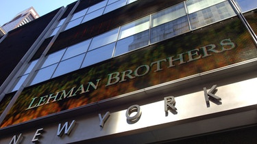 Lehman Brothers Bank - Firmenzentrale in New York 2008 | Bild: dpa/picture-alliance