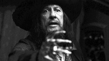 Geoffrey Rush als Pirat Barbossa (Fluch der Karibik) | Bild: picture-alliance/dpa