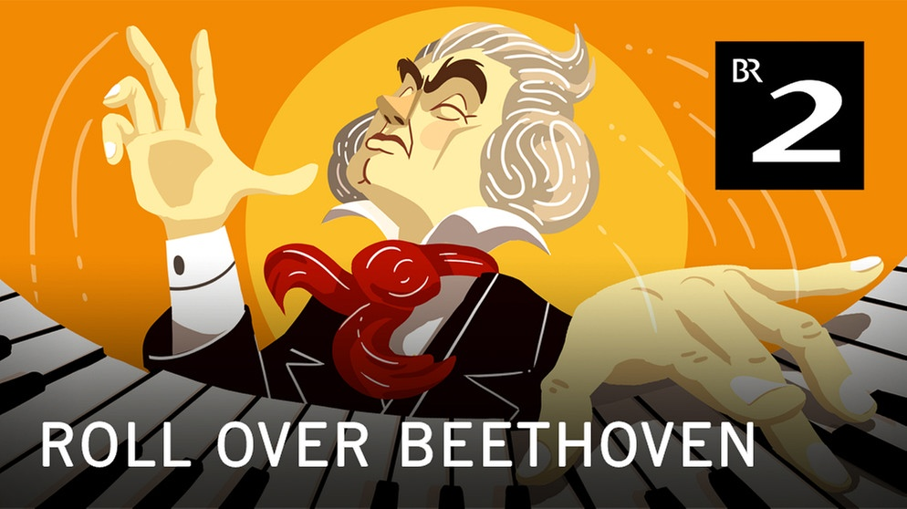 "Podcast-Cover ""Roll over Beethoven"" mit Christoph Maria Herbst 