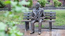 Alan-Turing-Denkmal in Manchester | Bild: picture-alliance/dpa