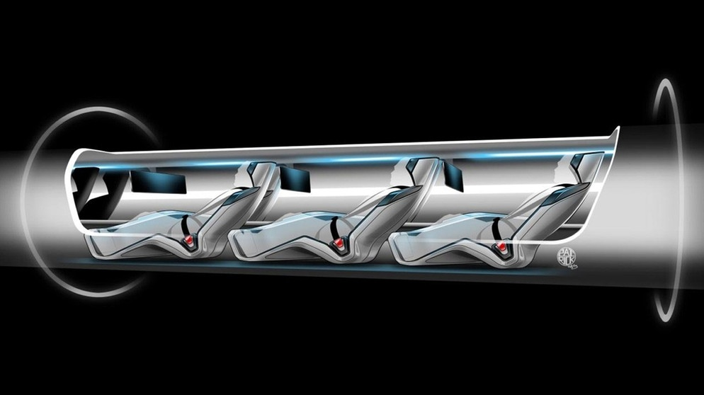 Hyperloop Tranportation System Concept | Bild: picture-alliance/dpa