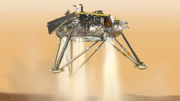NASA-Lander InSight  | Bild: dpa-Bildfunk