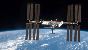 Die Raumstation ISS | Bild: picture-alliance/dpa