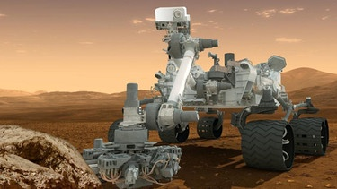 Mars Rover Curiosity (Illustration) | Bild: picture-alliance/dpa