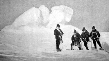 Antarktis-Expedition von Shackleton | Bild: picture-alliance/dpa
