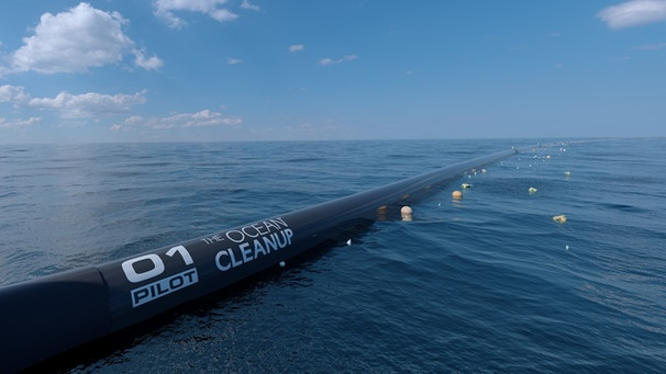 The Ocean Cleanup | Bild: picture-alliance/dpa