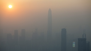 Smog in Shenzhen | Bild: picture-alliance/dpa