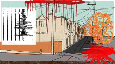 Illustration Kalenderblatt: Erbeben San Francisco | Bild: BR/ Angela Smets
