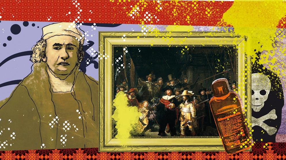 6 April 1990 Saureanschlag Auf Rembrandts Nachtwache