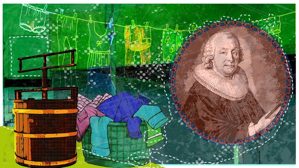 23 februar 1767 vorl ufer der waschmaschine erfunden for Waschmaschine in der ka che verstecken