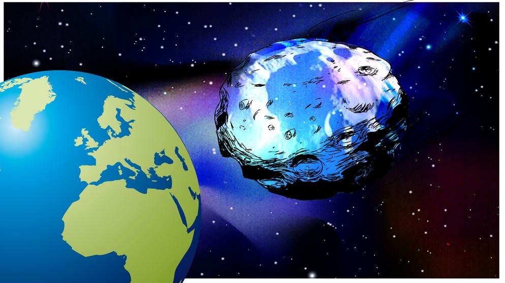 13 April 2029 Asteroid Apophis Besucht Die Erde Das