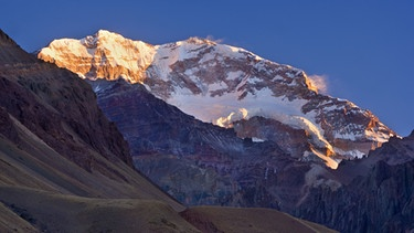 Der Aconcagua in Argentinien | Bild: picture-alliance/dpa/Mary Evans Picture Library
