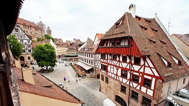 Ansichten von Dürers Haus: \