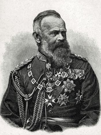 Luitpold, Prinzregent von Bayern, Sohn König Ludwigs I., ab 1886 Regent für seinen geisteskranken Neffen Ludwig II. und Otto I. | Bild: picture alliance/akg-images