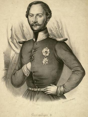 König Maximilian II. von Bayern | Bild: picture-alliance/dpa / Quagga Illustrations