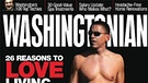 "Das US-Magazin ""Washingtonian"" zeigte im Mai 2009 den amerikanischen Präsidenten Barack Obama in einer roten Badehose. 
