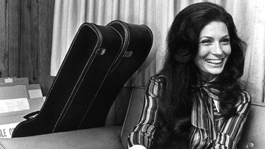 Die Countrymusikerin Loretta Lynn | Bild: picture-alliance/dpa