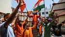 Proteste in Indien | Bild: picture alliance / ASSOCIATED PRESS | Channi Anand