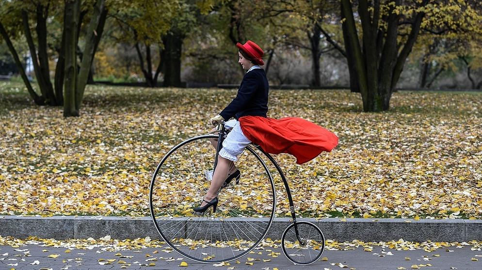 wer hat das fahrrad erfunden von der draisine zum. Black Bedroom Furniture Sets. Home Design Ideas