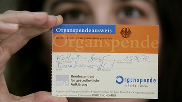 Organspende | Bild: picture-alliance/dpa