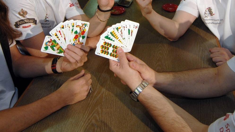 ausdruck beim kartenspiel