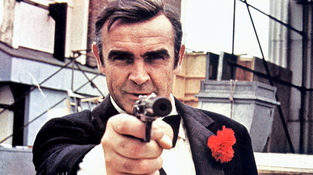 "Sean Connery in ""James Bond 007 - Diamentenfieber"" (1971) 