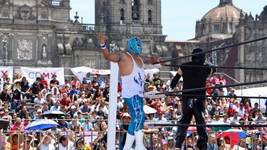 Lucha Libre in Mexico Stadt | Bild: picture-alliance